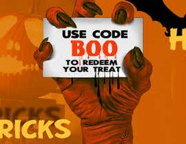#93 cho Design a Fun Website Banner - Halloween theme bởi freelancerdez