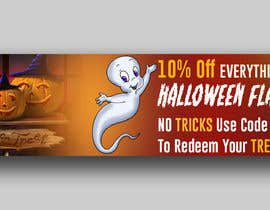 #49 για Design a Fun Website Banner - Halloween theme από designzone05