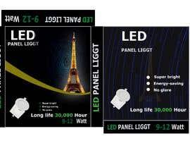 #22 cho Design box lamp with black background bởi Manik012
