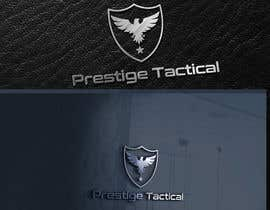 "#35 for I need company name text and logo designed. The website is ""Prestige Tactical"" which isnt live yet. It will be selling security, military and law inforcement tactical gear and clothing torches and first aid equipment etc. by NeriDesign"