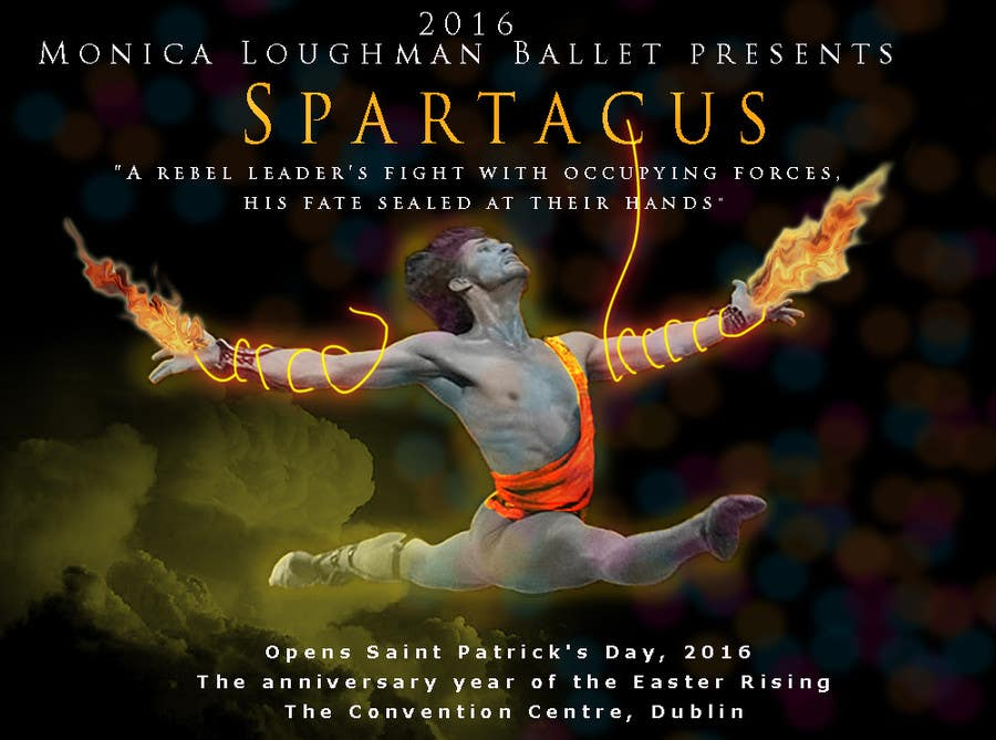 Inscrição nº 31 do Concurso para Graphic Design for ballet company for a ballet called Spartacus