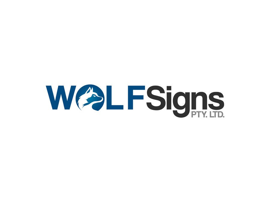 Bài tham dự cuộc thi #                                        198                                      cho                                         Logo Design for Wolf Signs