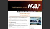 Graphic Design Konkurrenceindlæg #228 for Logo Design for Wolf Signs