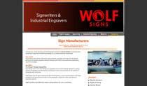 Graphic Design Konkurrenceindlæg #231 for Logo Design for Wolf Signs