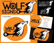 Graphic Design Konkurrenceindlæg #255 for Logo Design for Wolf Signs