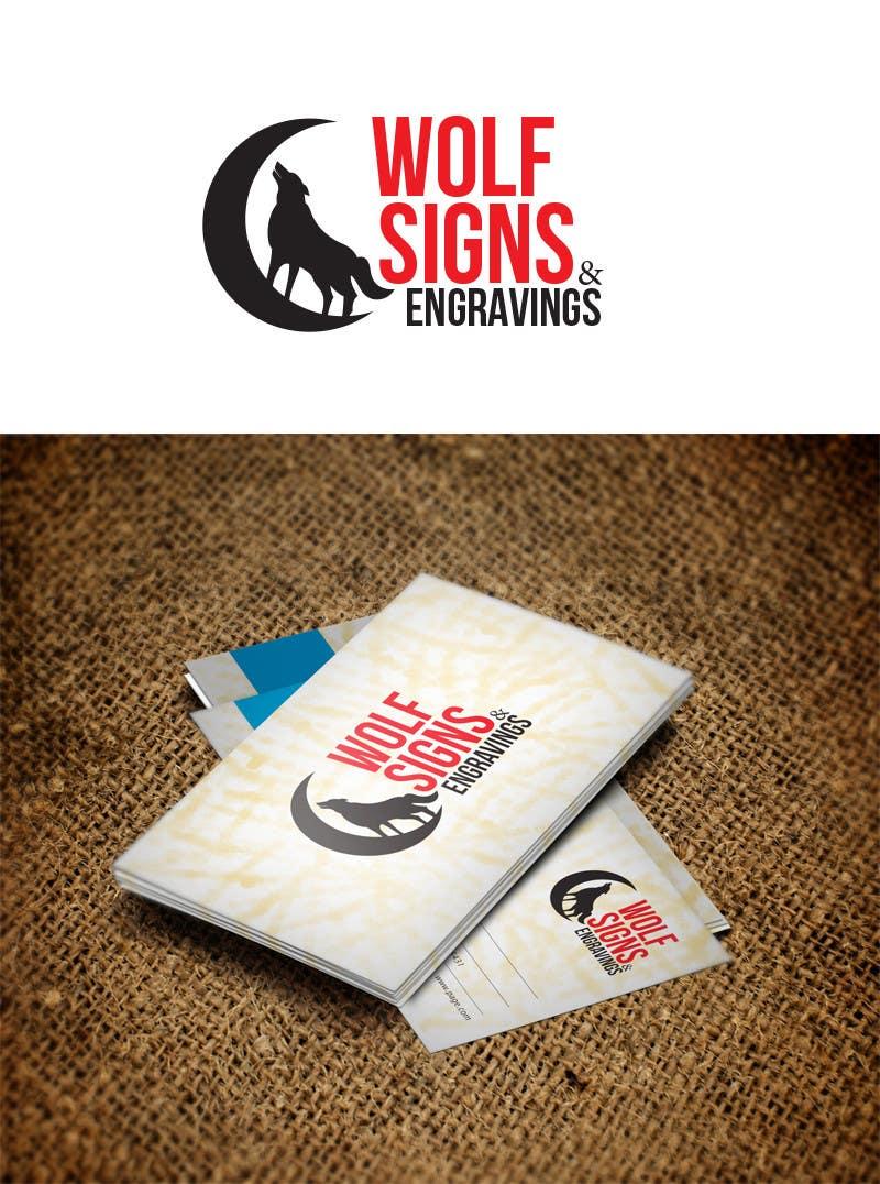 Bài tham dự cuộc thi #                                        197                                      cho                                         Logo Design for Wolf Signs
