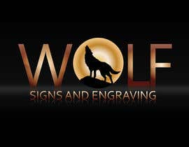 #132 para Logo Design for Wolf Signs por Udioica1