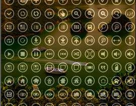 #102 for Thin circle outline Icons AND Desktop wallpapers by noornada