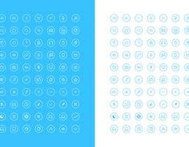 #108 for Thin circle outline Icons AND Desktop wallpapers by diptisamant84