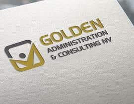 "#93 untuk Design a Logo for ""Golden Administration & Consulting N.V."" oleh riponrs"