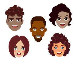 Nro 6 kilpailuun Illustrate 6 characters - avatars käyttäjältä wahidxaman