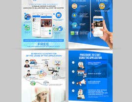 #19 untuk Design Brochure for sales mobile application oleh ephdesign13