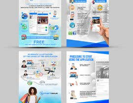 #27 untuk Design Brochure for sales mobile application oleh ephdesign13