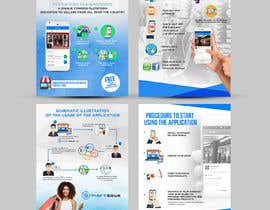 #30 for Design Brochure for sales mobile application by ephdesign13