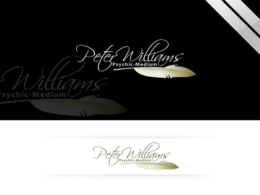 Penyertaan Peraduan #115 untuk Logo Design for Peter Williams Psychic-Medium