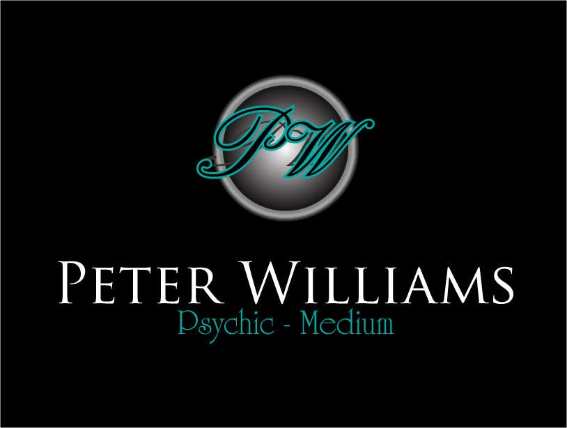 Penyertaan Peraduan #143 untuk Logo Design for Peter Williams Psychic-Medium