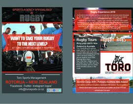 nº 30 pour Rugby Flyer par E1a2s3mi45n6a7k8