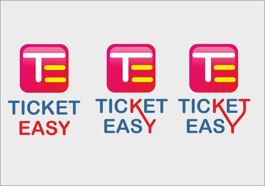 entry 44 by dvsuvarnkar for design a logo for app called ticket
