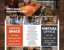 nº 89 pour FLYER for Coworking Office Space for Rent par DaveWL