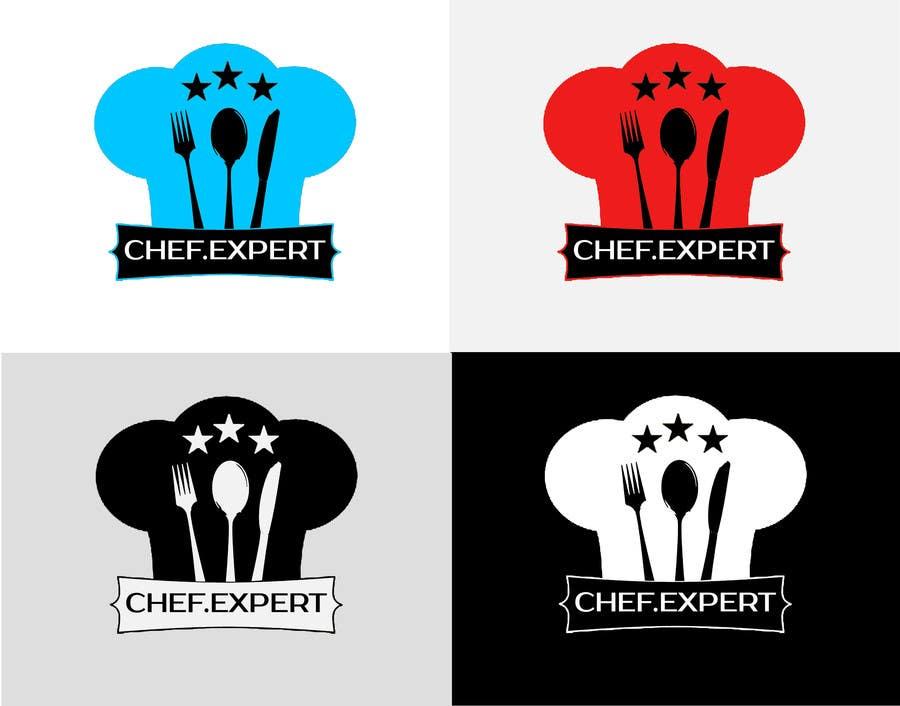 Inscrição nº                                         46                                      do Concurso para                                         Logo for site chef.expert