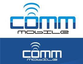 #54 para Logo Design for COMM MOBILE por ezra66