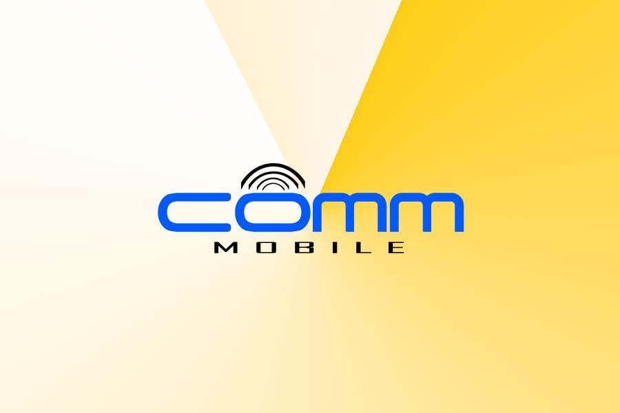 Bài tham dự cuộc thi #66 cho Logo Design for COMM MOBILE