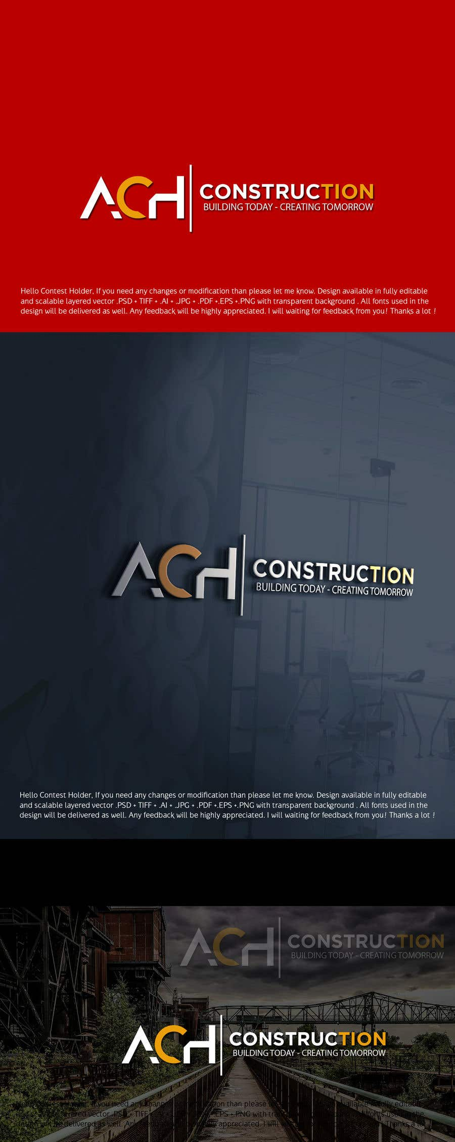 Entry #15 by Designer318 for Design a Logo for Construction