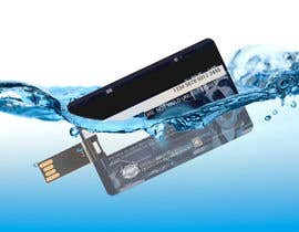 #3 cho Design a 3D mockup of a credit card shape flash drive bởi AbidAliSayyed