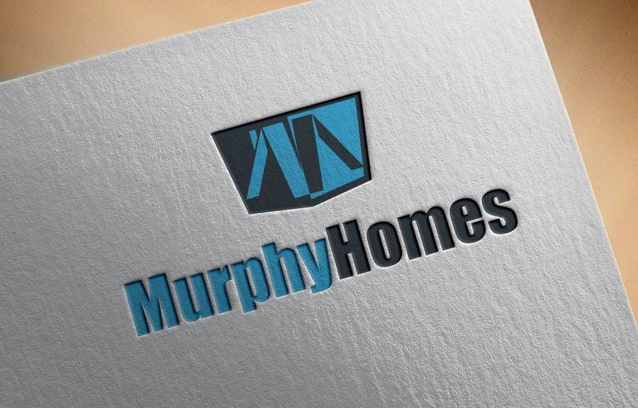 Конкурсная заявка №1334 для Logo for Murphy Homes