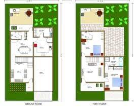 Nro 11 kilpailuun I need detailed house plan käyttäjältä skapilavastu