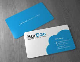 #7 para Business Card Design for SurDoc por Brandwar