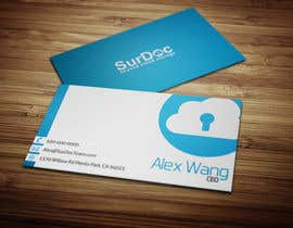 #216 para Business Card Design for SurDoc por AmrZekas