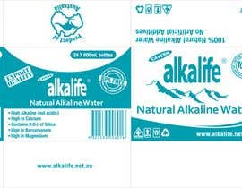 #15 para Package Design for alkalife Natural Alkaline Water por moncapili