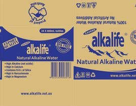#14 para Package Design for alkalife Natural Alkaline Water por moncapili