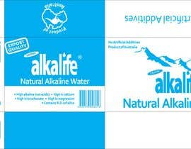#8 para Package Design for alkalife Natural Alkaline Water de lalita82