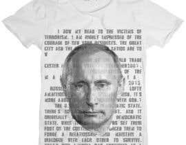 Shayotto tarafından Design eines Putin T-Shirts için no 43