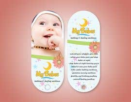 #45 untuk Print & Packaging Design for My Babes Teething & Healing Necklaces oleh Samadesign