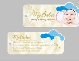#57 for Print & Packaging Design for My Babes Teething & Healing Necklaces by Desry