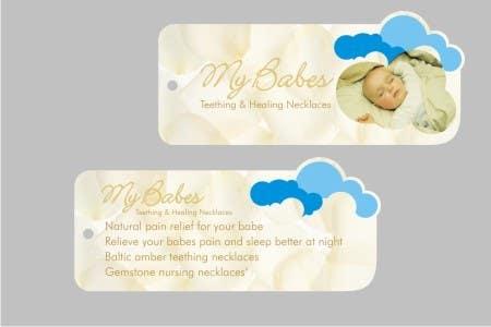 Конкурсная заявка №                                        39                                      для                                         Print & Packaging Design for My Babes Teething & Healing Necklaces