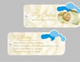 #39 dla Print & Packaging Design for My Babes Teething & Healing Necklaces przez Desry