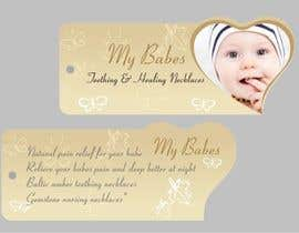 #56 dla Print & Packaging Design for My Babes Teething & Healing Necklaces przez Desry