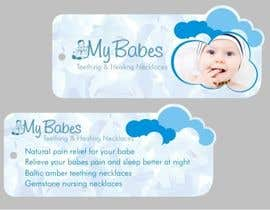 #42 for Print & Packaging Design for My Babes Teething & Healing Necklaces by Desry