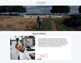 #5 untuk Homepage Website Mock oleh gauravdesigns1