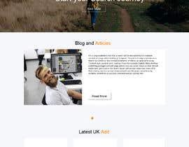 #6 untuk Homepage Website Mock oleh gauravdesigns1