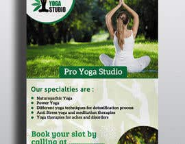 #22 for Design a Flyer _ for yoga institute by Nirmolaroy