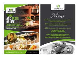 #26 for Flyer Design - Wine and Dine Theme af maidang34