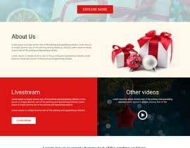 #17 for Website Mockup for Christmas Livestream site af webmastersud