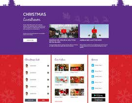 #20 for Website Mockup for Christmas Livestream site af AyazAhemadKadri