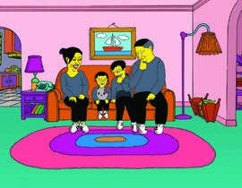 #11 for Simpsons Family Drawing - Family of 4 af renlopez21
