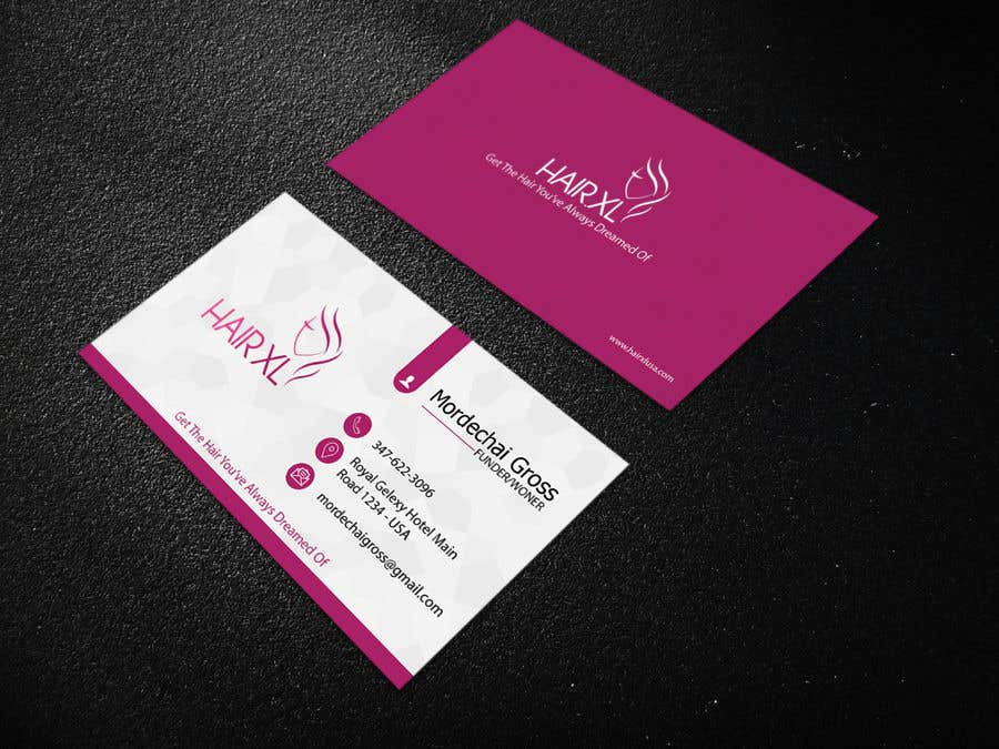 Entry #43 by rakibhasan011 for Business Card Design for a Hair ...